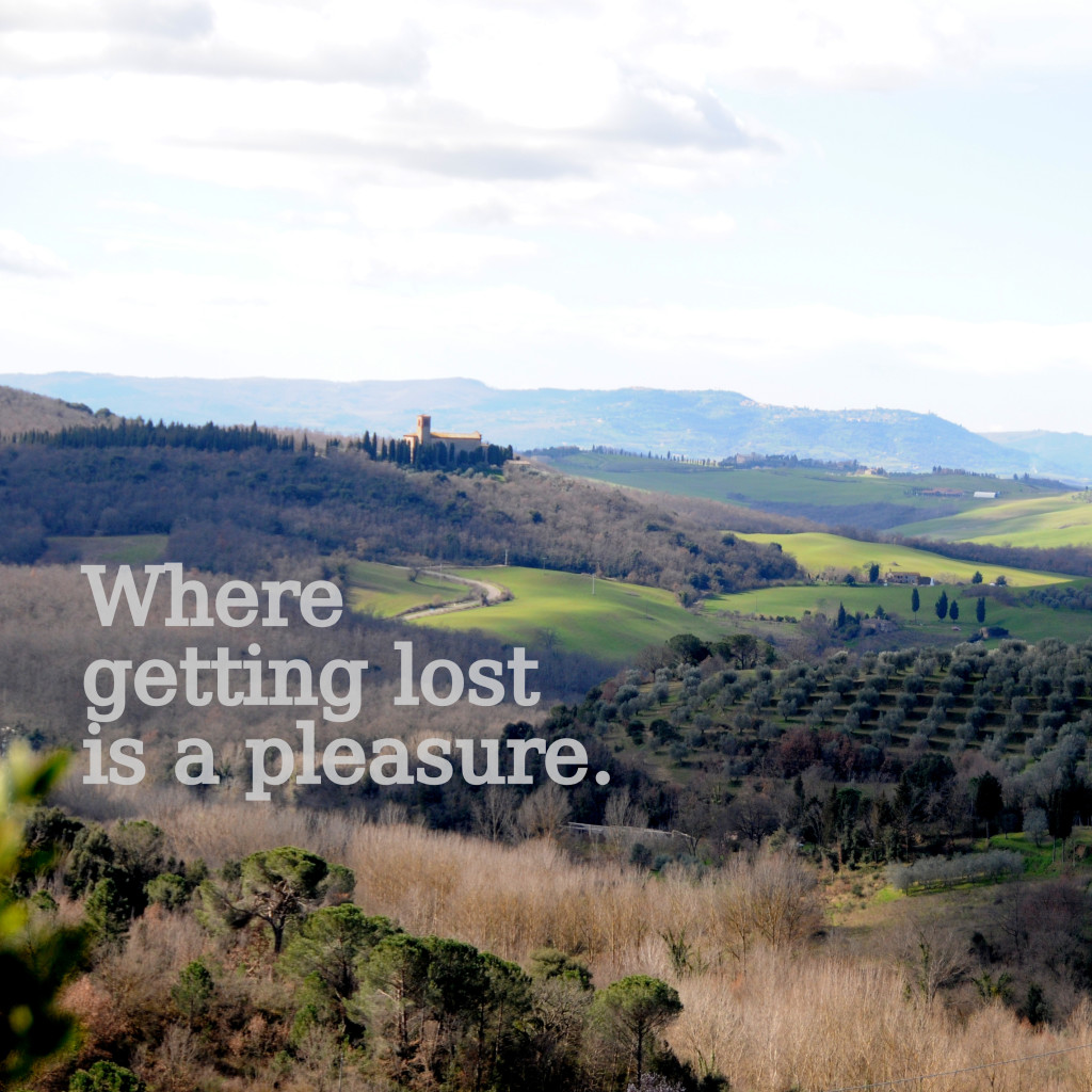 where to base yourself in tuscany