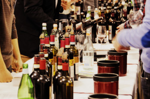 Wine tasting event in Montalcino