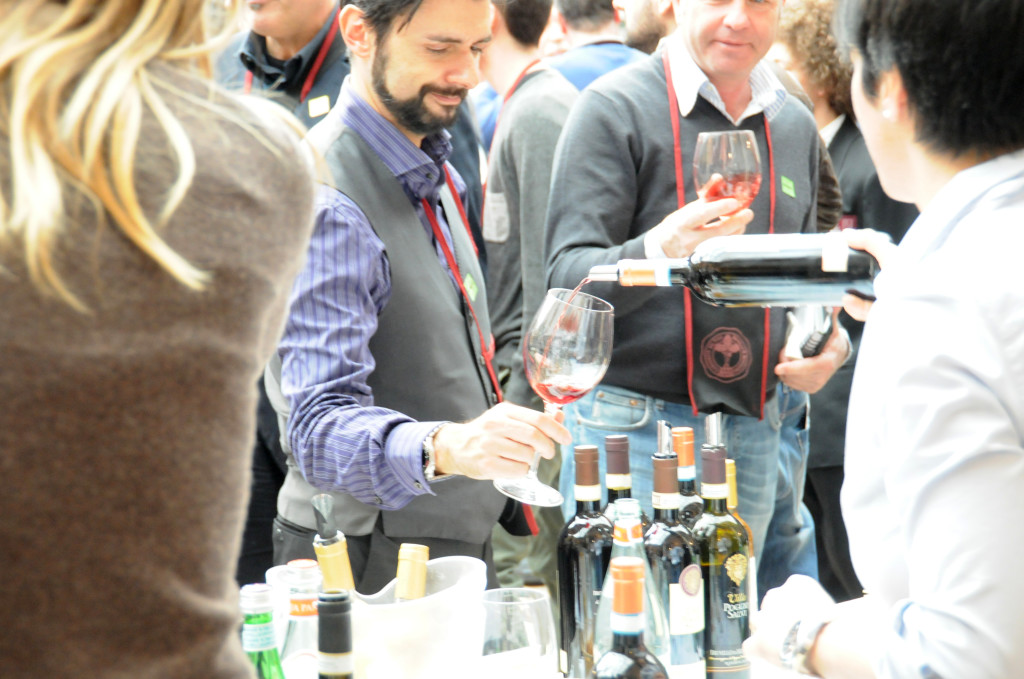 A lively day's tasting at the joyful annual Benvenuto Brunello event