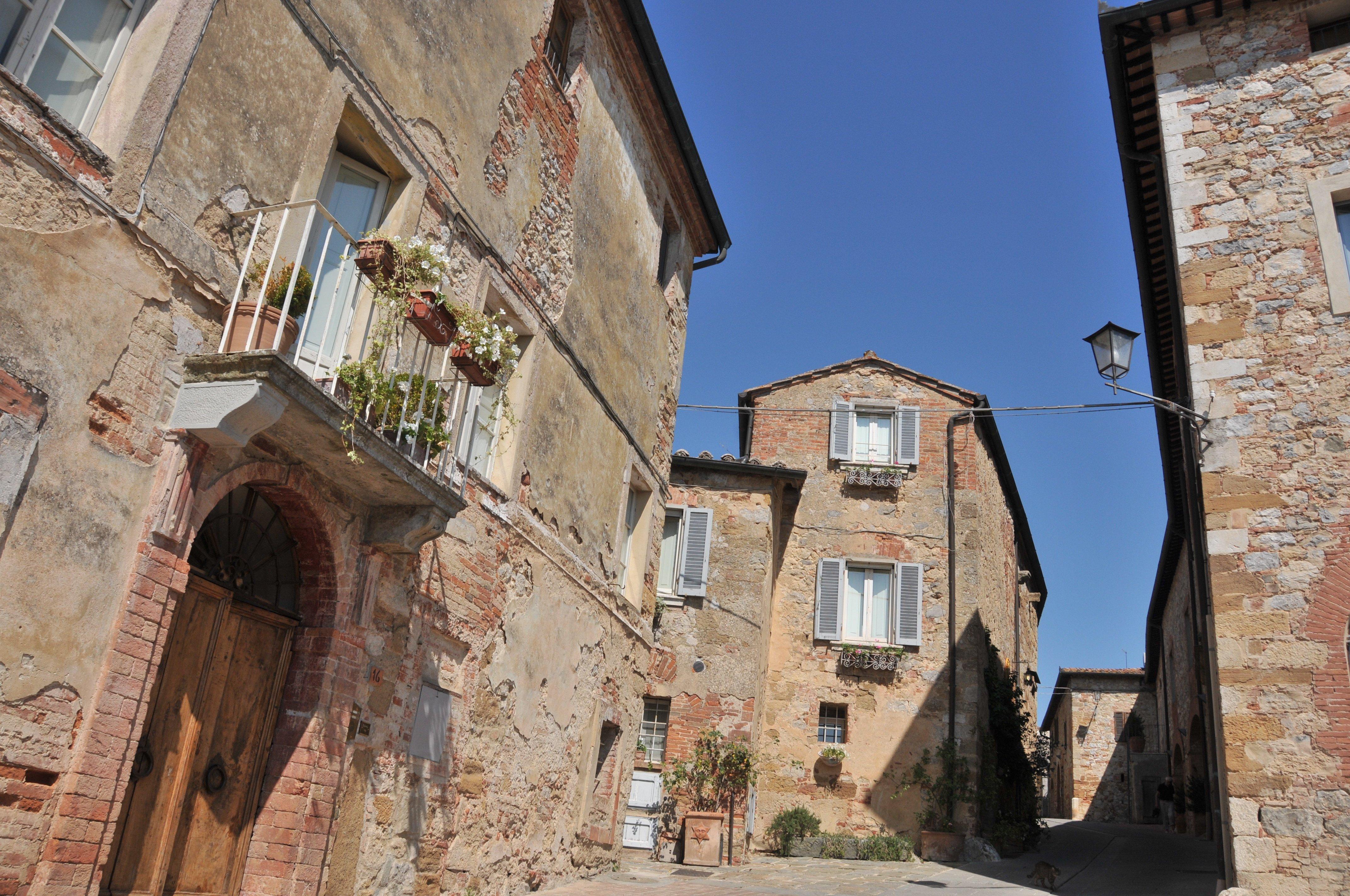 Montefollonico siena siena house tuscany for Sienna house